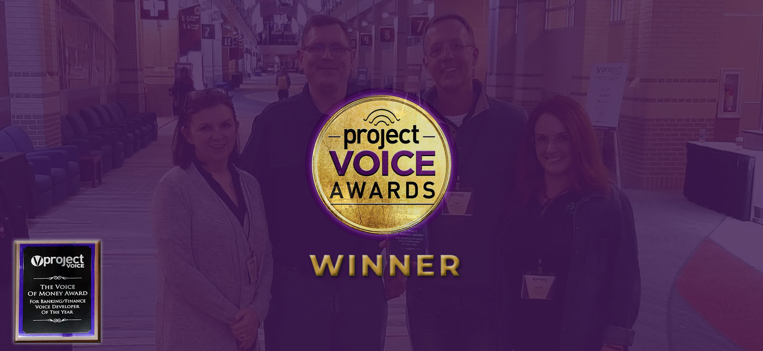 Best Innovation Group's Voice Banking Platform Takes Home Award from Project Voice