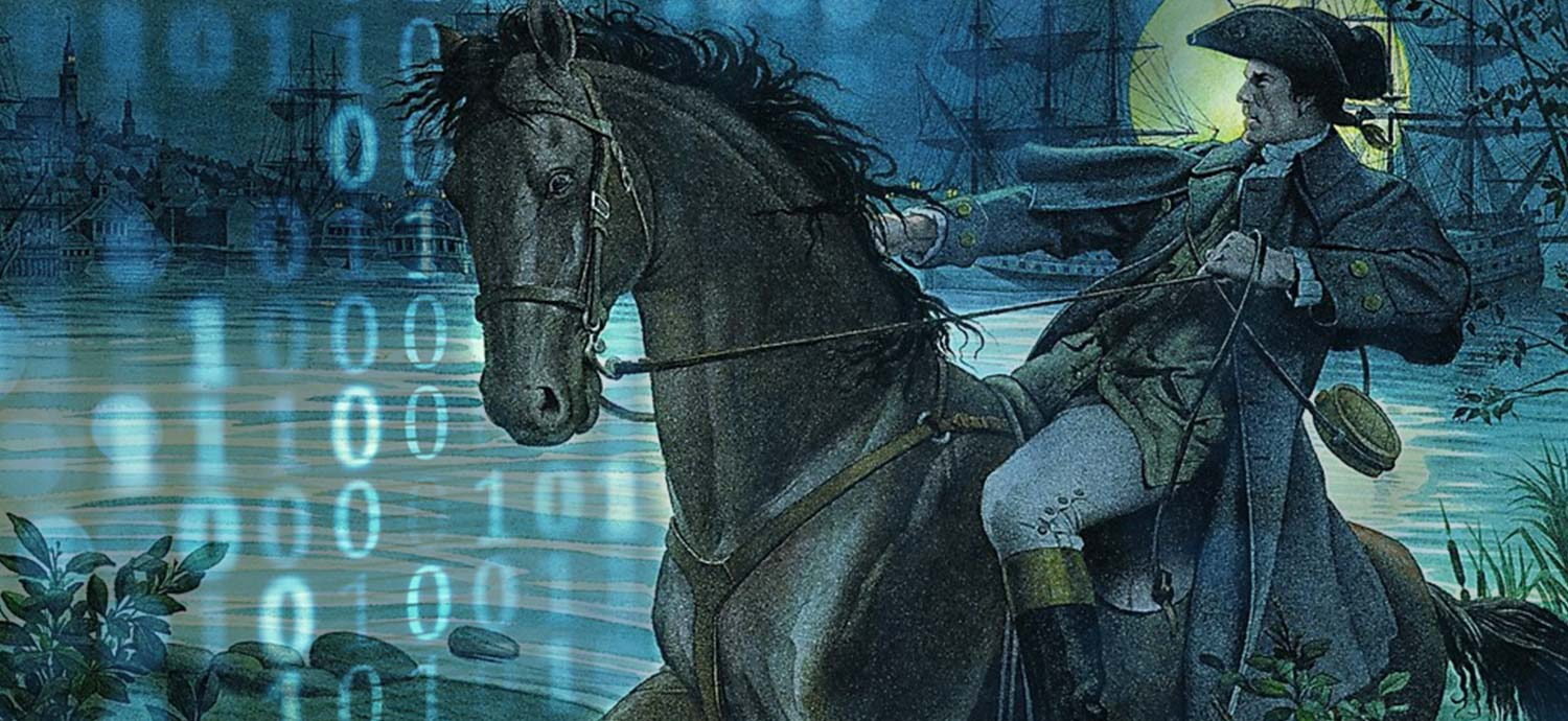 A Digital Paul Revere, and a Credit Union Adam Smith